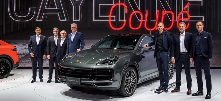 全新Cayenne Coupé在上海车展完成亚洲首秀