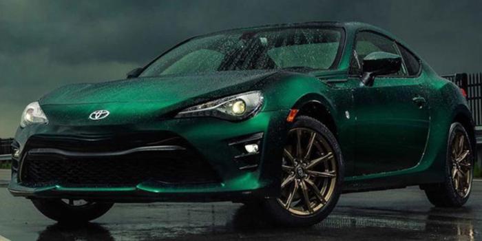 专属绿色车漆 丰田86箱根特别版下半年上市