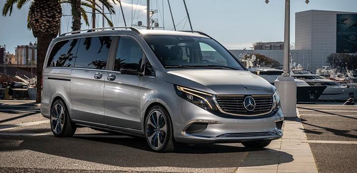 纯电动MPV新选择 奔驰发布EQV概念车