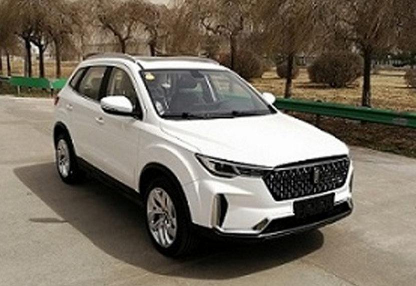 奔腾全新SUV申报信息曝光 或命名为奔腾T33