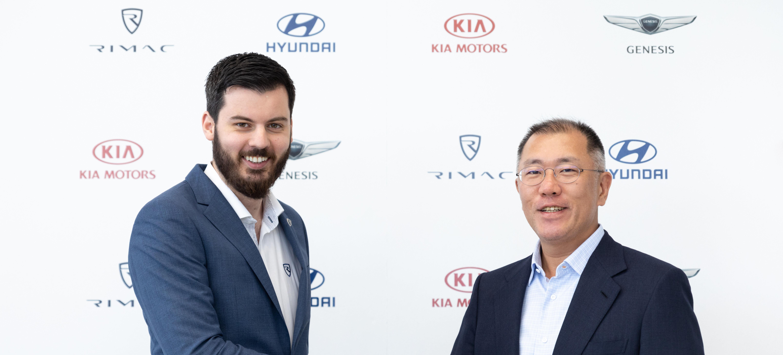 现代起亚与Rimac公司共同研发高性能电动车