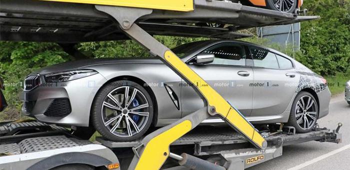 宝马8系Gran Coupe实拍图曝光 将在慕尼黑首发