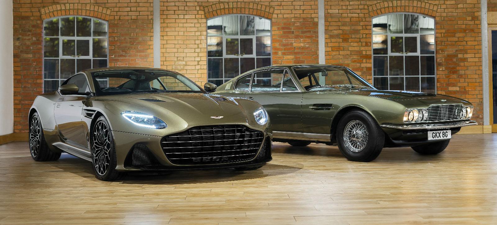 阿斯顿·马丁推出限量版车型 彰显007风范