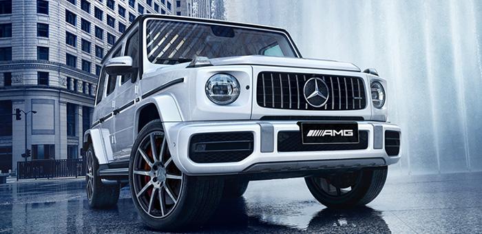 新款奔驰G级上市 售价158.8-245.8万元