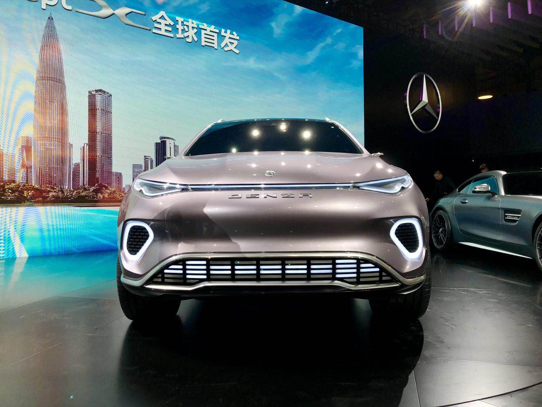 腾势SUV概念车深圳车展首发 将于2020年初交付