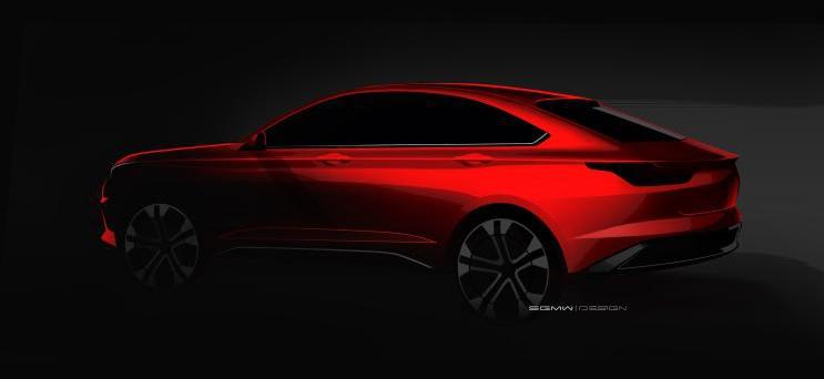 采用溜背式设计 宝骏全新车型设计图曝光