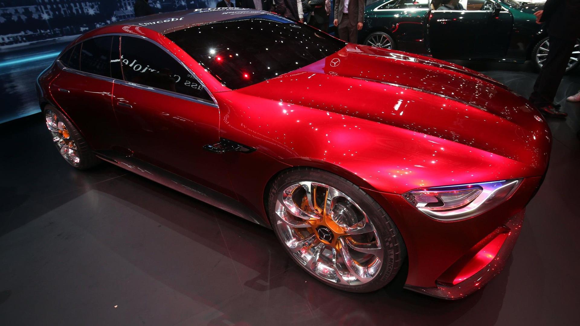 AMG GT73量产版车型曝光 最大800马力