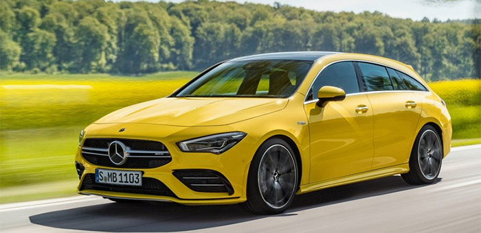 2020 CLA35 AMG 4Matic Shooting Brake