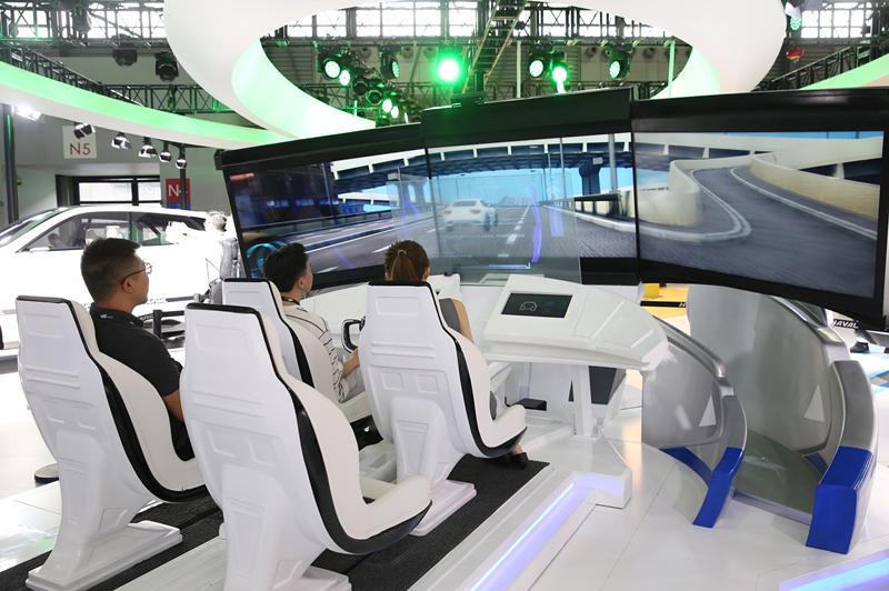 """长城汽车携多项""""黑科技""""亮相2019上海CES展"""