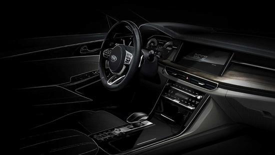 搭载V6发动机 起亚新凯尊设计图曝光