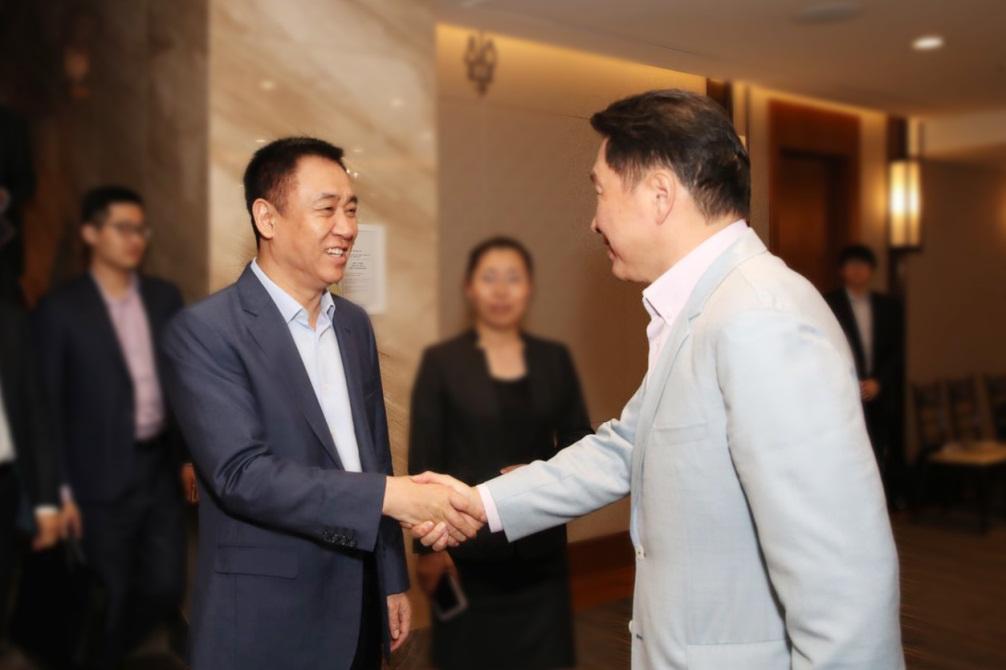 许家印考察韩国SK集团 将在新能源领域合作