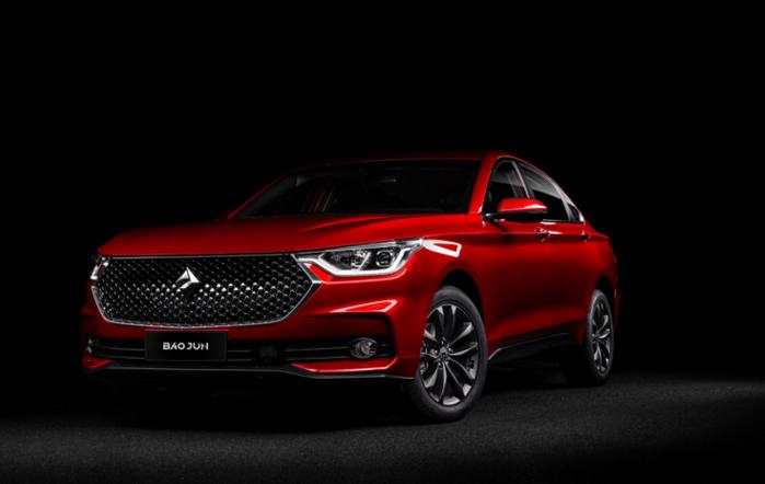 宝骏发布旗下首款轿车RC-6 预计下半年上市