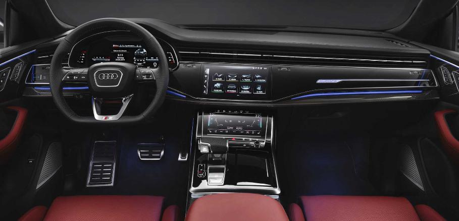 奥迪发布全新SQ8官图 搭载4.0T柴油发动机