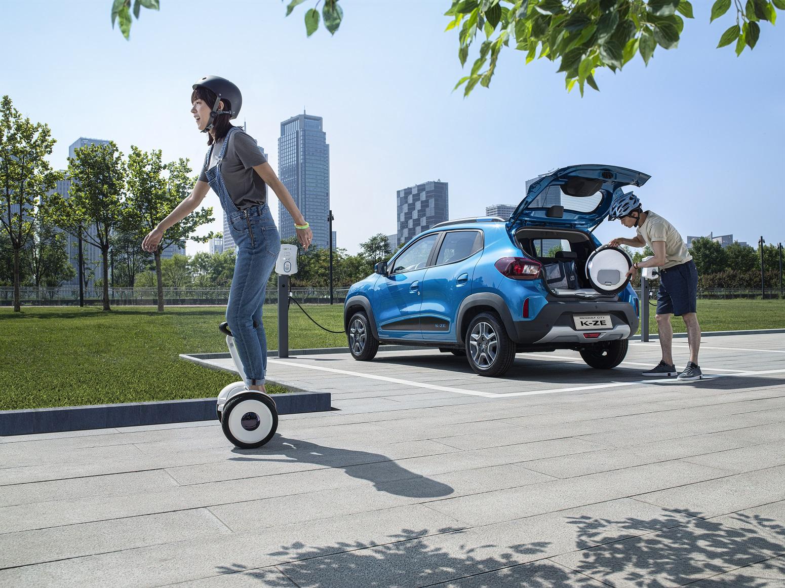 命名e诺 雷诺发布首款电动车K-ZE中文名