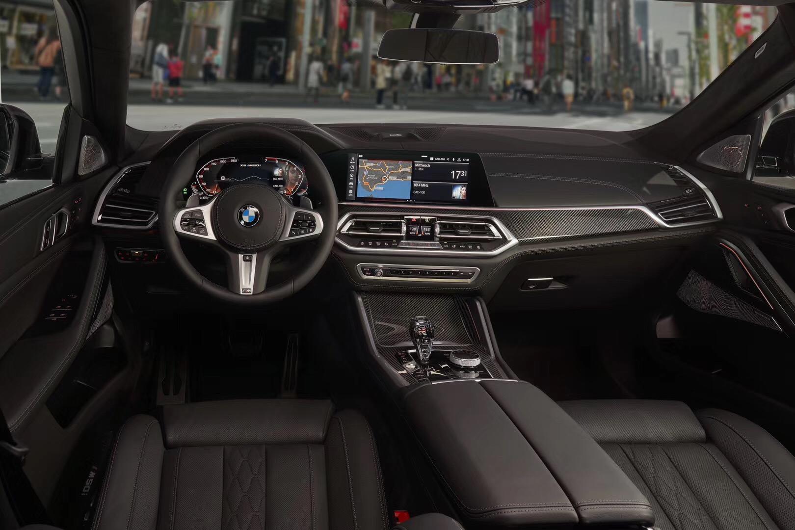 全新一代宝马X6官图发布 预计9月全球首发