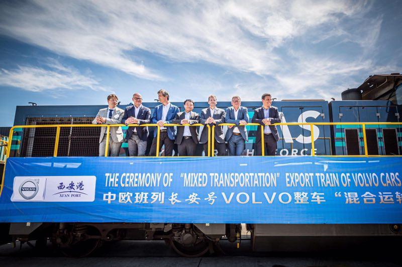 践行一带一路 中国制造沃尔沃XC60出口欧洲