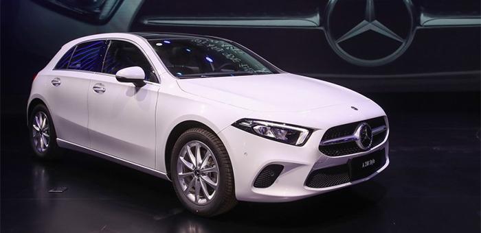 全新奔驰A级两厢上市 售25.8-78-27.38万元