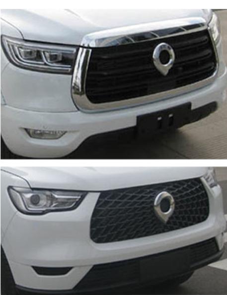 车价网:长城炮皮卡官图正式发布 两种前脸造型设计