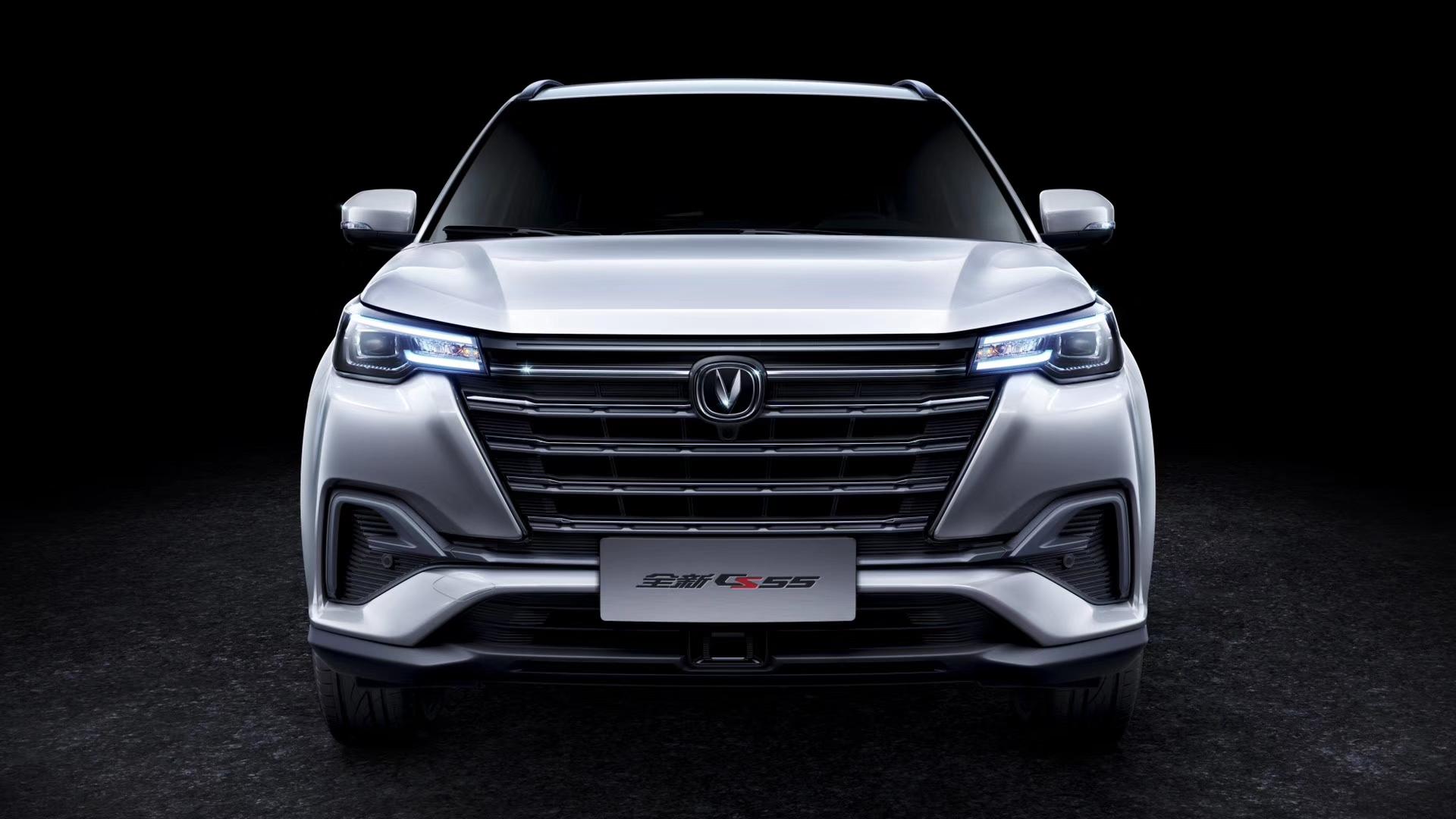 车价网:全新长安CS55官图发布 配备贯穿式尾灯
