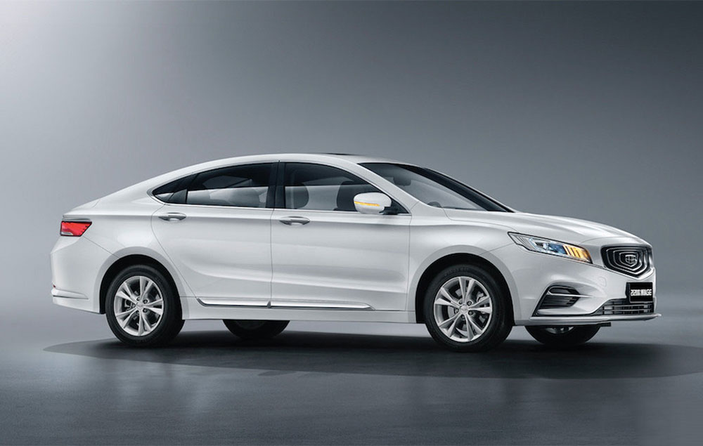 车价网:新款博瑞GE官图发布 增1.8T燃油车型