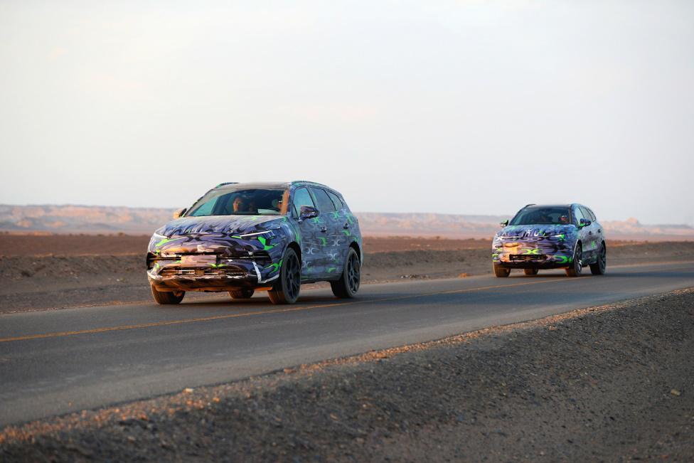 车价查询:腾势全新量产车测试谍照曝光 续航超500公里