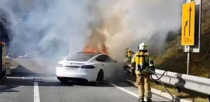 频繁发生自燃事件 新能源车安全性再生质疑