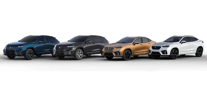 车价网:WEY VV7家族官图发布 将于成都车展上市