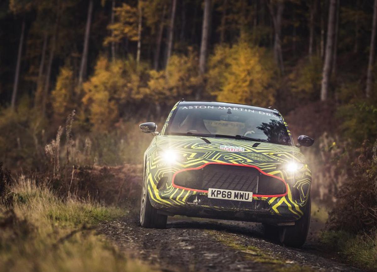 车价网:阿斯顿·马丁首款SUV来了 将于12月份亮相