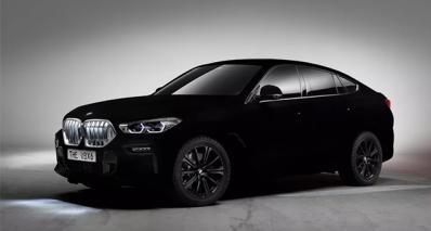 BMW X6纯黑版