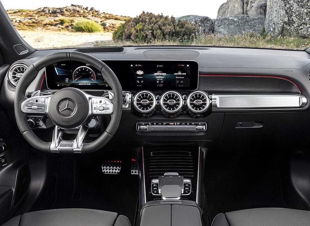 车价查询:奔驰AMG GLB 35官图发布 法兰克福车展首发