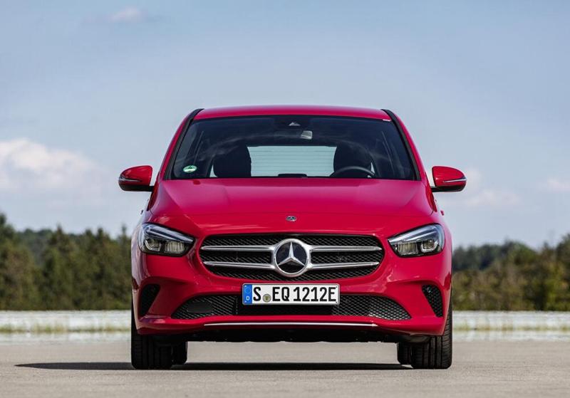 车价网:最大功率160kW 奔驰B级推出插电混动版本