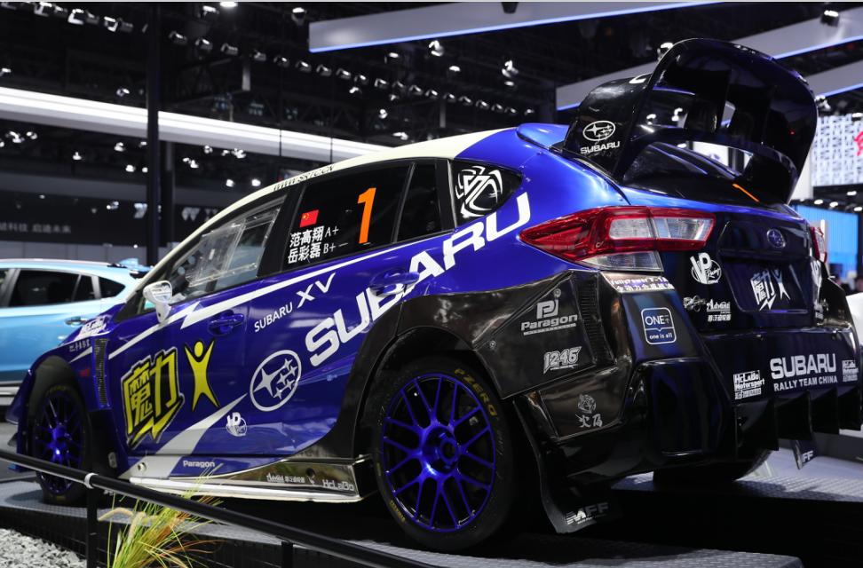 车价网:斯巴鲁VIZIV概念车国内首发 多款车型亮相展台