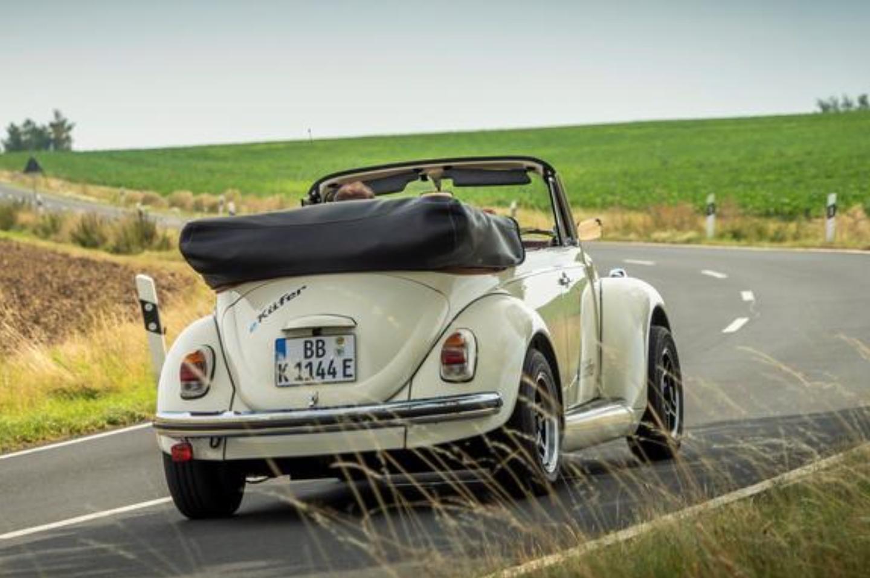 """经典车型""""复活"""" 大众推出甲壳虫电动版概念车"""