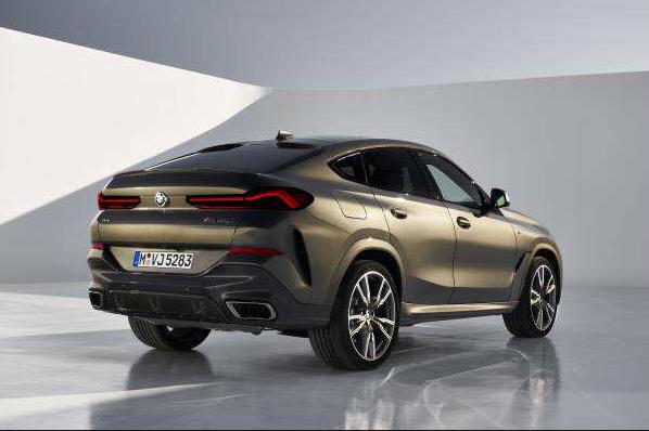 新车报价:空间动力升级 全新宝马X6亮相法兰克福车展