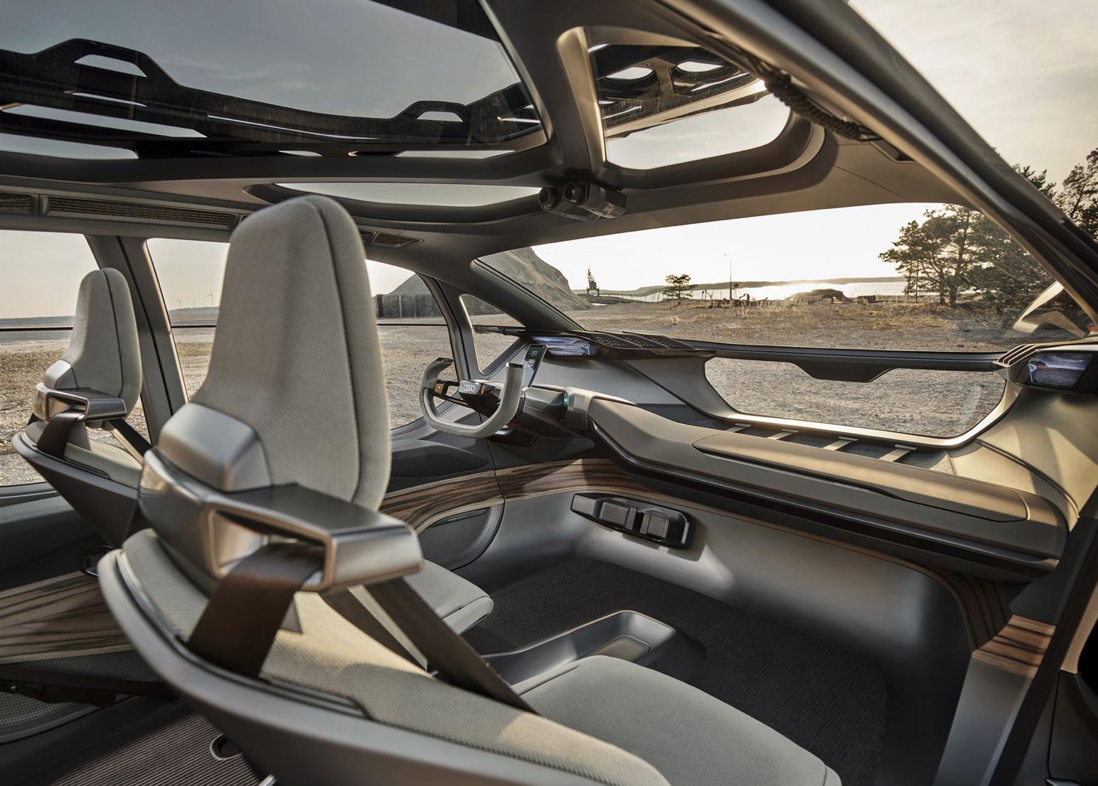车价查询:未来的越野汽车 奥迪AI系列概念车车展亮相