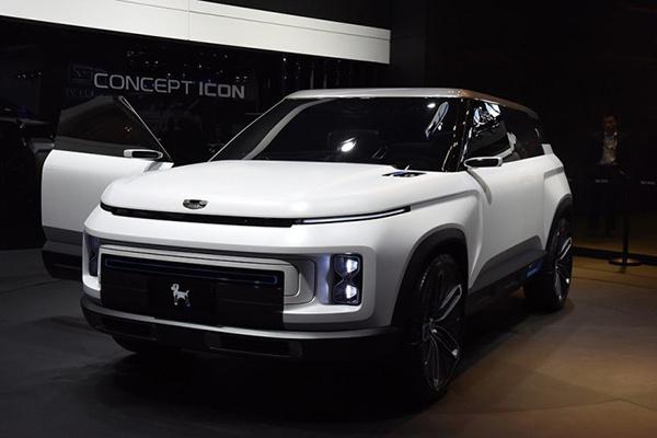 新车报价:吉利全新紧凑型SUV SX12正式定名为icon