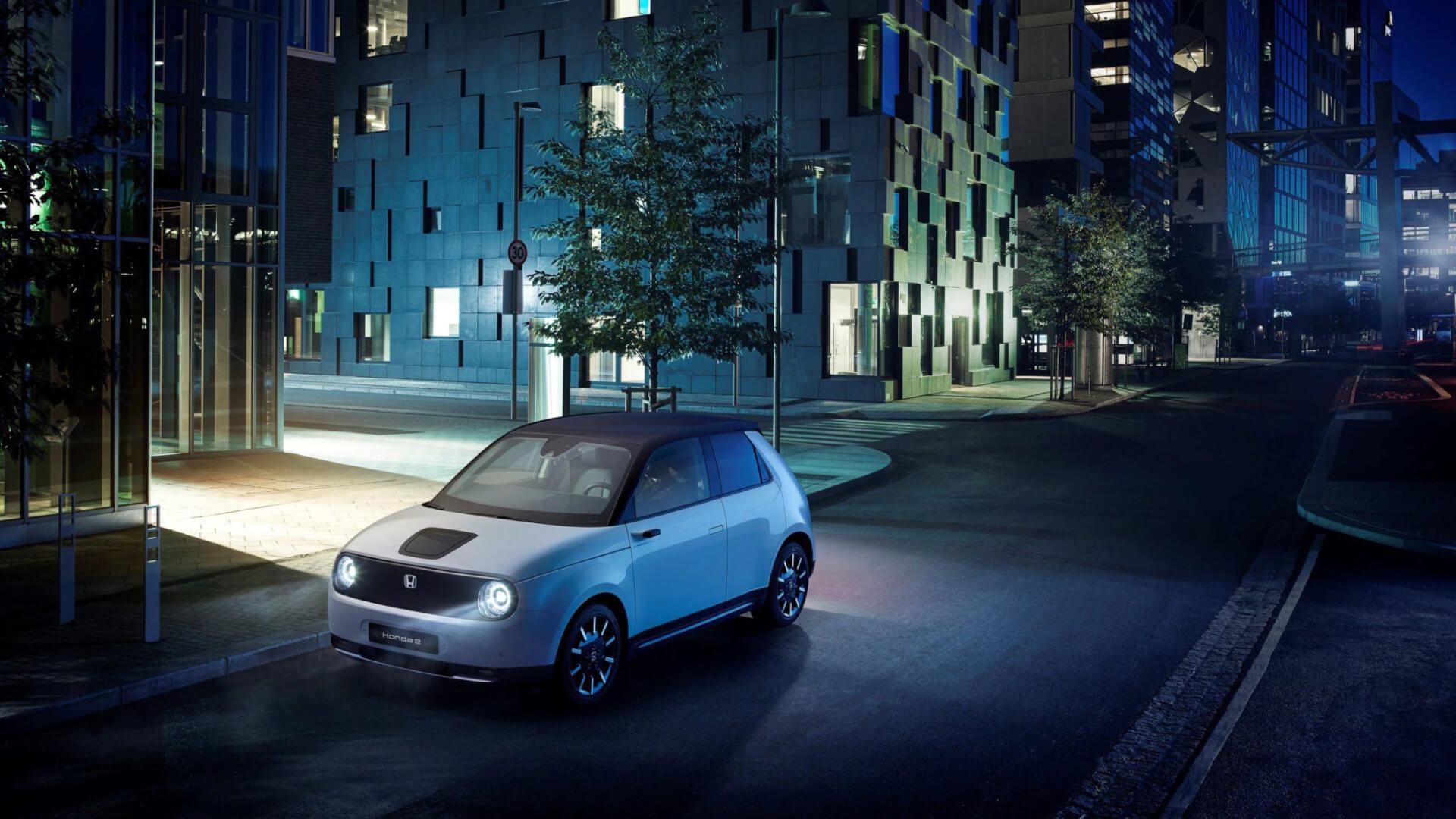 车价网:欧版本田e量产电动车发布 2020年交付