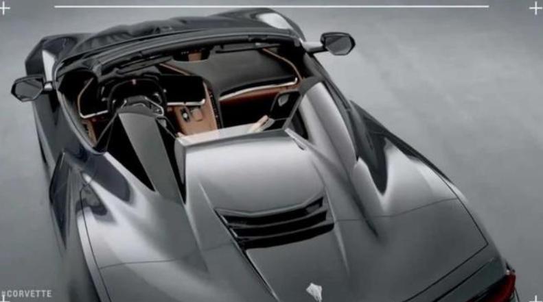 车价网:全新雪佛兰科尔维特敞篷版 10月2日全球首发