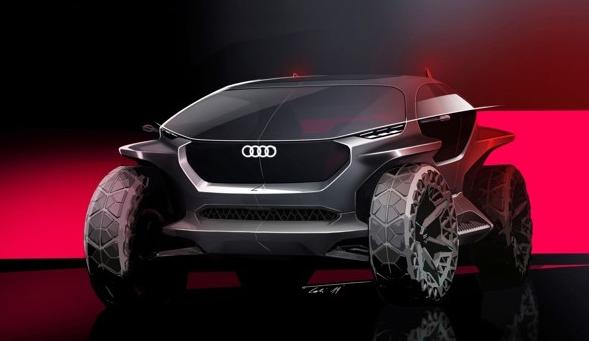 车价查询:越野电动概念车奥迪AI:TRAIL是怎么设计出来的?