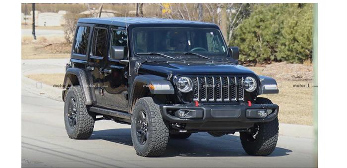 Jeep牧马人插电混动无伪装谍照曝光 将于明年上市