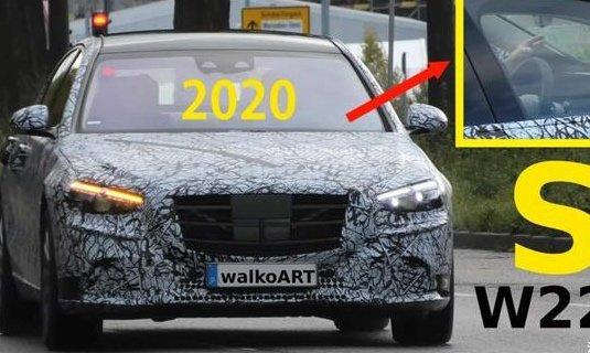 车价查询:有望2020年发布 全新一代奔驰S级谍照曝光