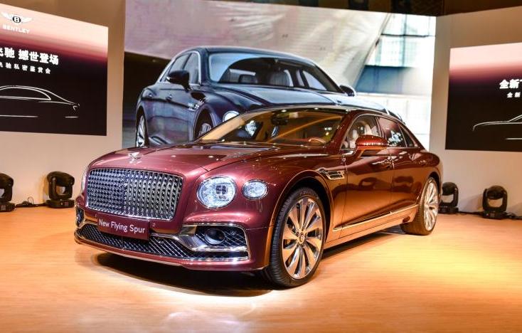 全新一代宾利飞驰价格发布 售价289万起