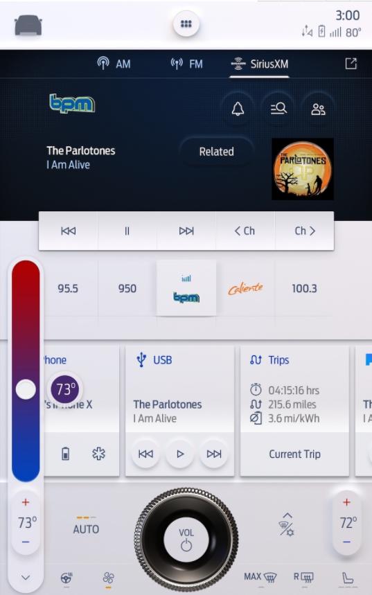 更智能轻松 福特北美发布SYNC 4车载系统