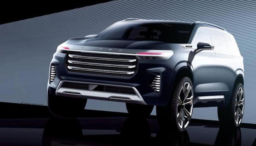 星途VX概念车设计图曝光 将于广州车展亮相