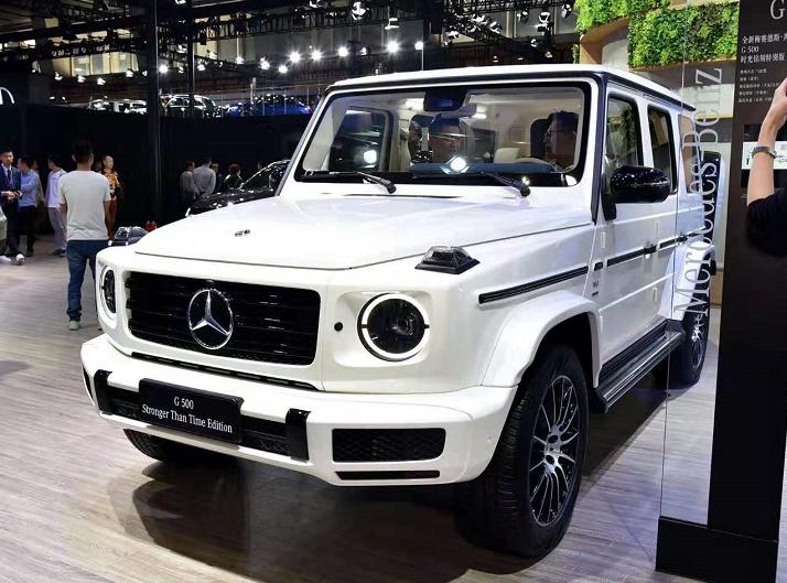 2020款奔驰G 500正式上市 售价162.88万