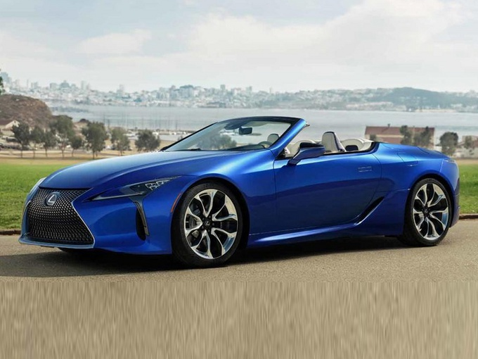 雷克萨斯LC敞篷版实拍曝光 搭V8引擎/明年开售