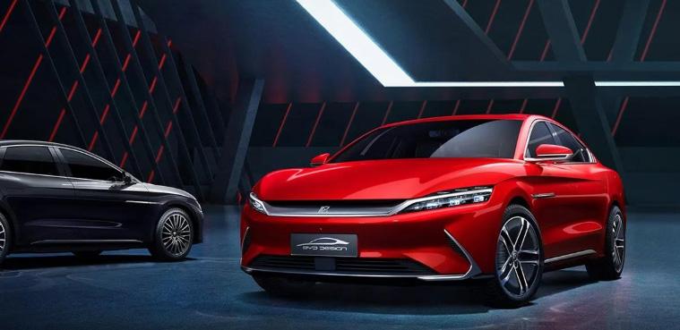 比亚迪汉官图发布 将推出EV和DM两种动力版本