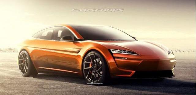 新一代Model S预想图 续航力有望破800公里