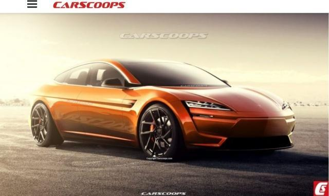新一代Model S預想(xiang)圖 續航力有xing)wang)破800公(gong)里