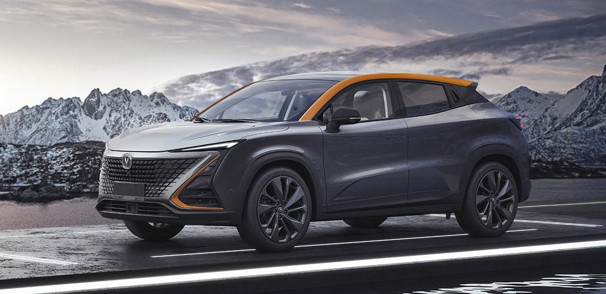 长安UNI-T官图发布 2020年日内瓦车展正式亮相